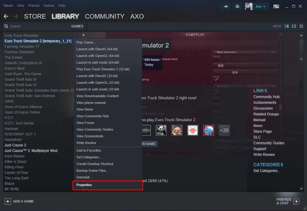 download steam_api64.dll euro truck simulator 2